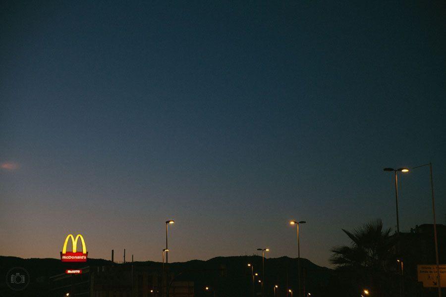 Рассвет в Испании