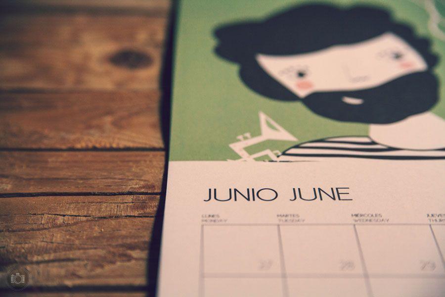 Иллюстрации для календаря на 2013 год