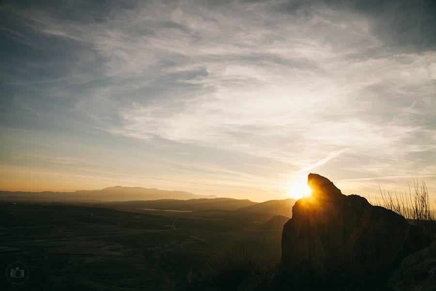 Закат солнца в Испании