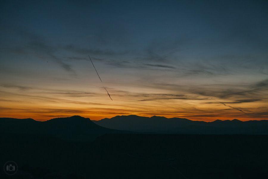 Вечерний пейзаж в Испании