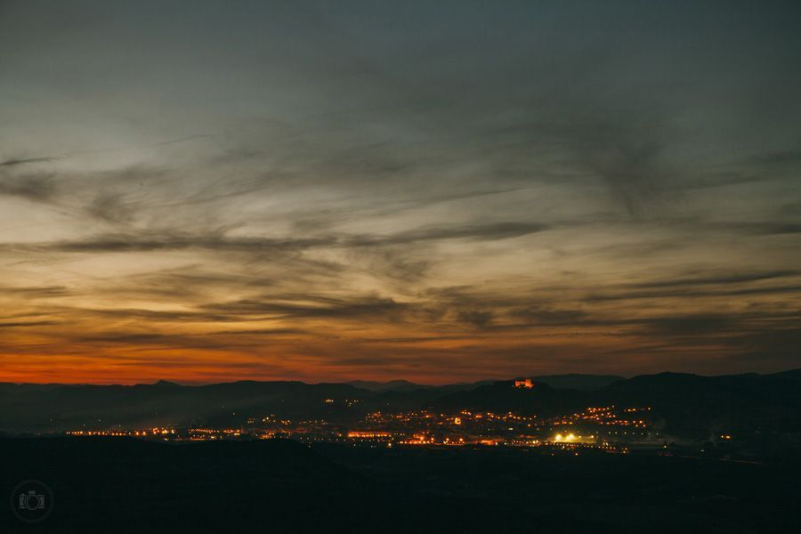 Ночной пейзаж в Испании