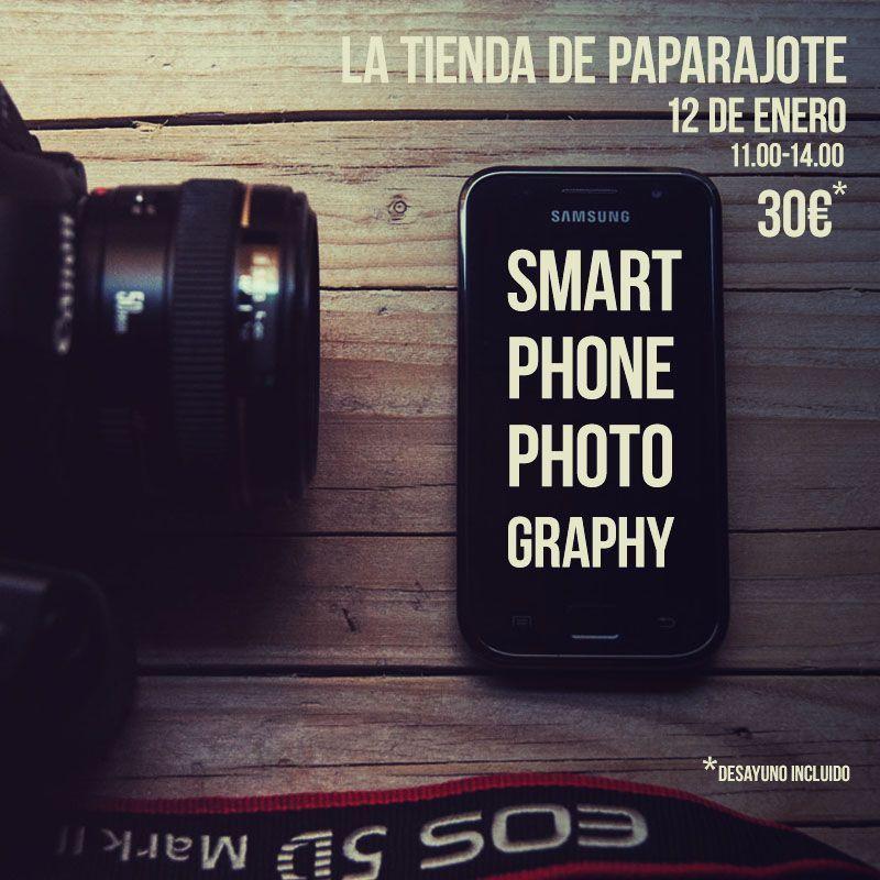taller de fotografía con móvil