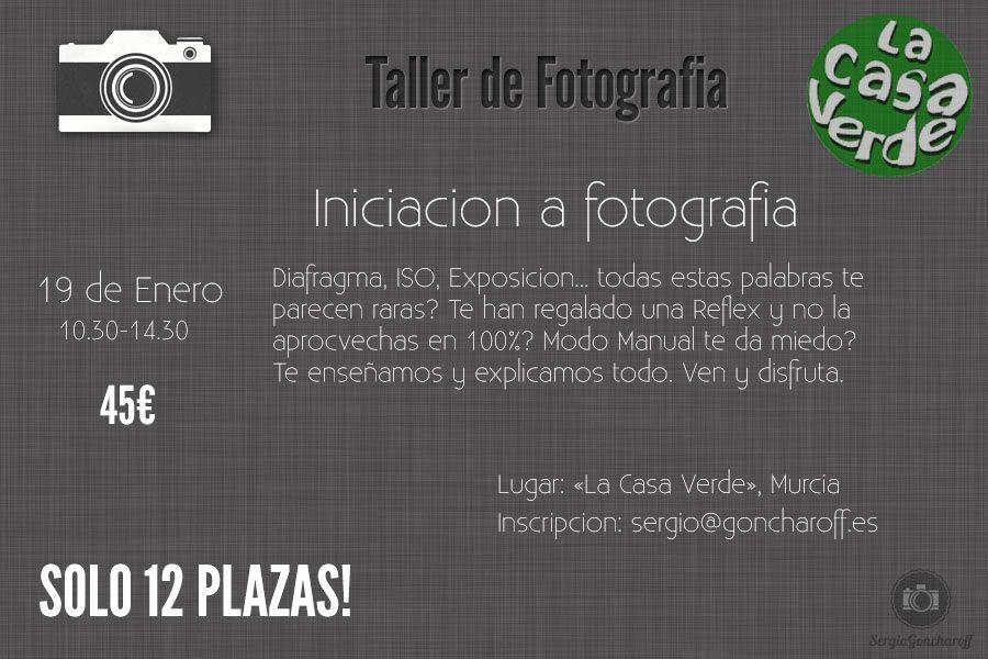 taller de fotografia casa verde