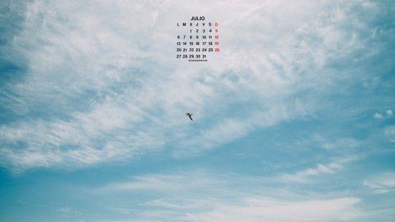Calendario para julio