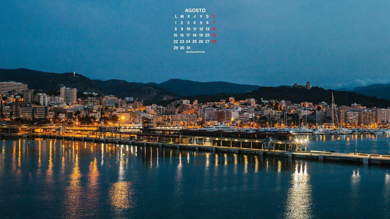 Calendario de Agosto 2016 descargar gratis