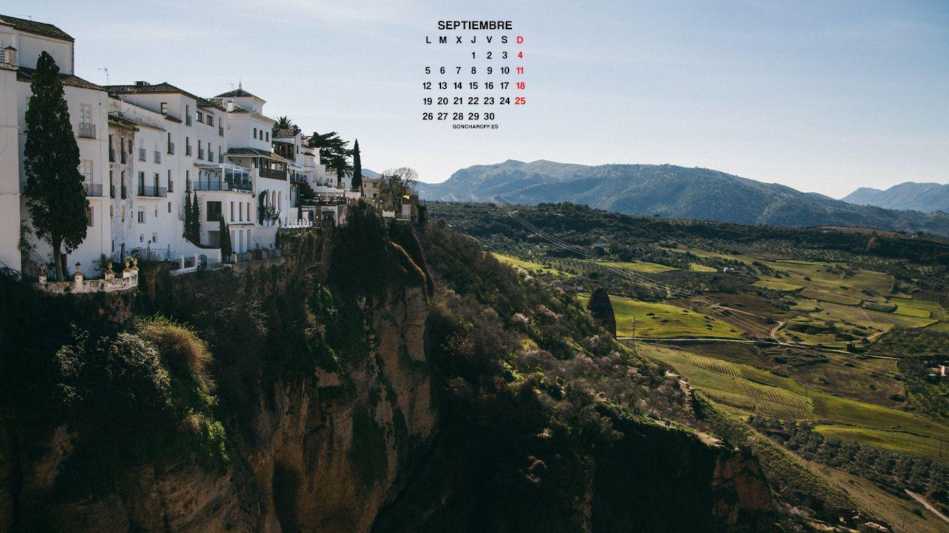 Calendario de Septiembre 2016 descargar gratis