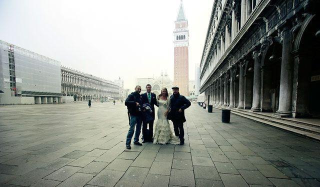 Fotografia de post boda en Venecia