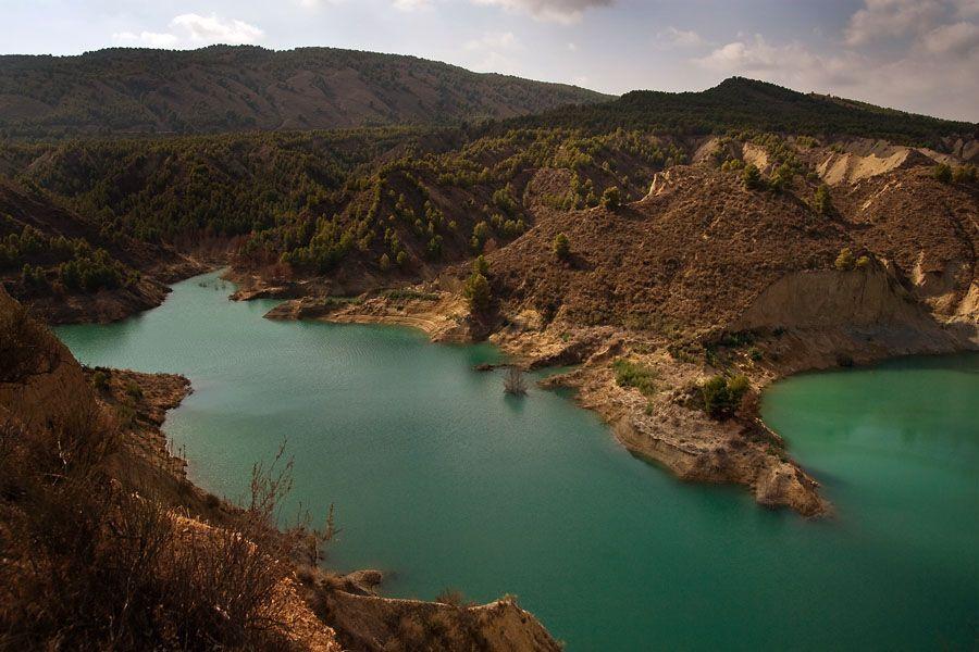 Fotografia de Paisaje. Pantano de Gebas