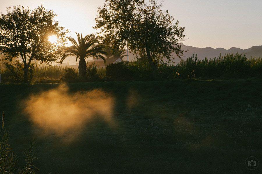 Fotografía de amanecer en Murcia