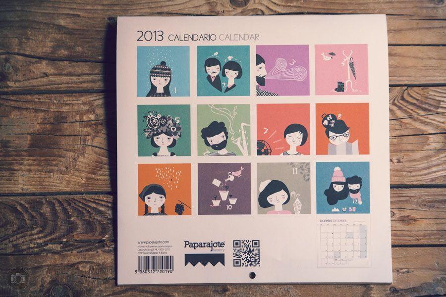 Calendario Paparajote