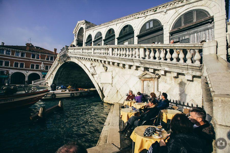 Puente mas famoso de Venecia