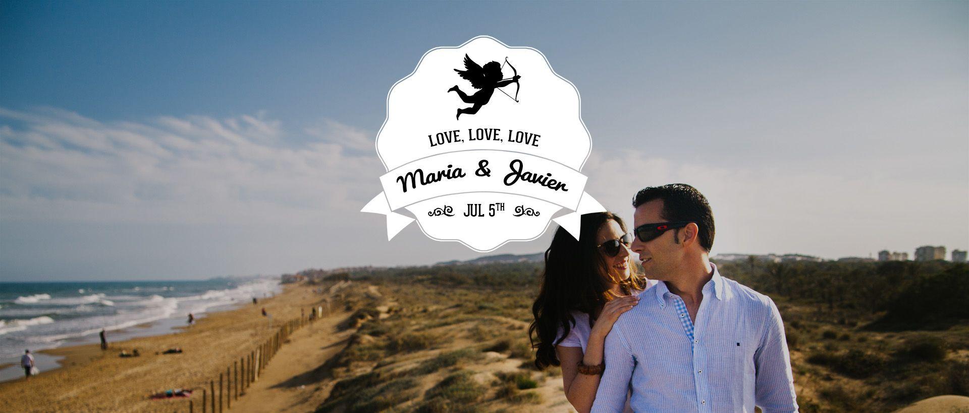Cinematografia de pre boda en playa