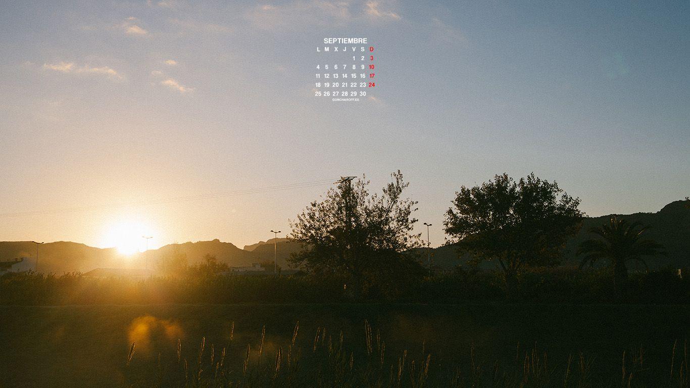 Calendario de Septiembre 2017 descargar gratis